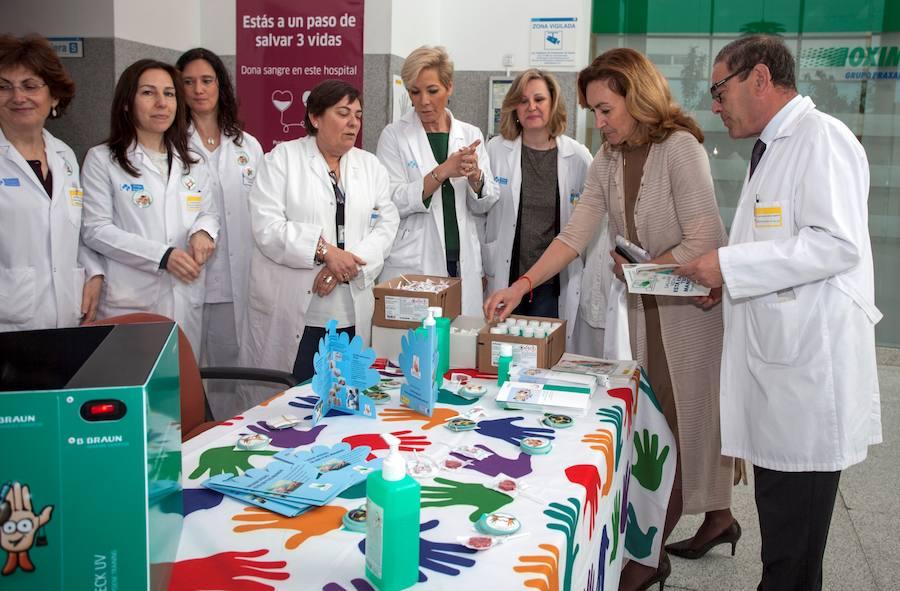 La Consejería incide en el lavado de manos para la prevención de infecciones