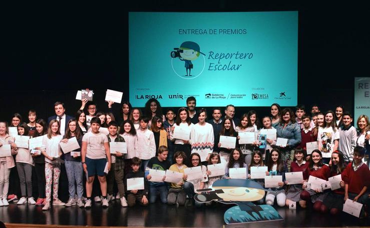 Reportero escolar: la gala (III)