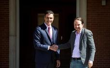 Sánchez e Iglesias sientan las bases para un acuerdo de legislatura