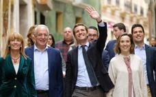 Pablo Casado, el lunes en Logroño