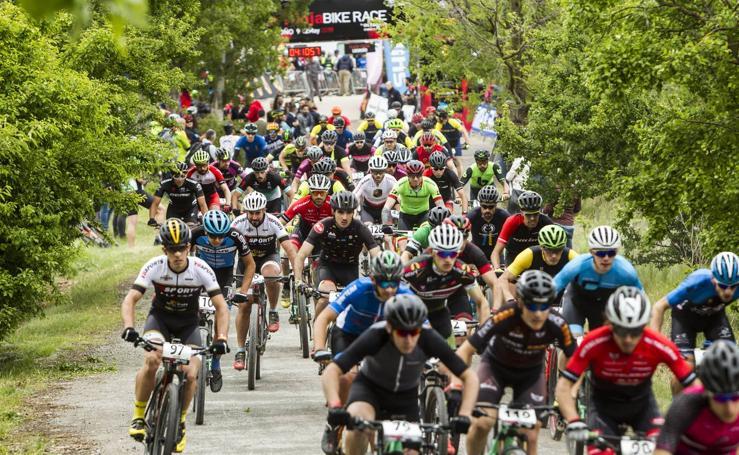 Primera etapa de La Rioja Bike Race: La salida