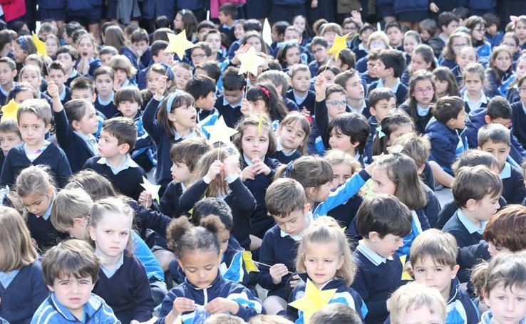 Escolapias recoge la Estrella de Europa