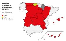 El PSOE agrandaría su victoria en las autonómicas, municipales y europeas