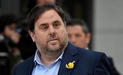 La Fiscalía del Supremo se opone a tramitar el suplicatorio a los presos electos del 'procés'