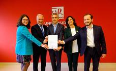 Los candidatos se comprometen con la Universidad de La Rioja