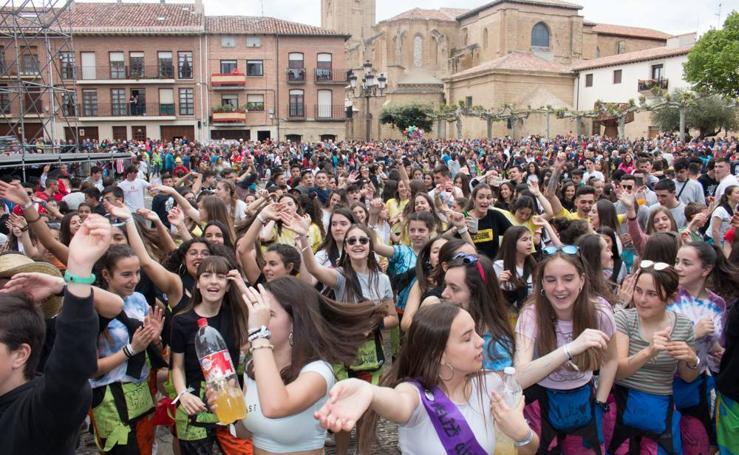 Santo Domingo tira el cohete de las fiestas en honor a su patrón