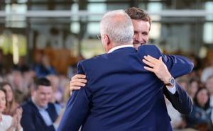 Casado llama en Logroño a unir el voto de la derecha