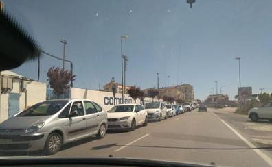 Retenciones en la entrada a Calahorra desde Arnedo por las obras en los puentes