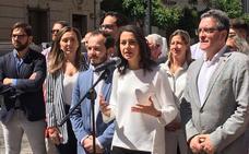 Arrimadas en Logroño: «No puede ser que nos gobiernen los mismos durante 30 años»