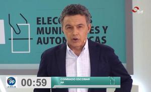 Minuto final de Conrado Escobar (PP)