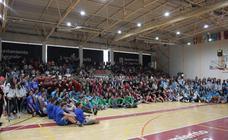 Día del Baloncesto en el polideportivo de Lobete
