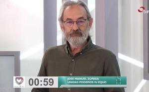Minuto final de José Manuel Zúñiga (UP)