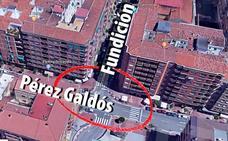 Mujer herida por atropello en Pérez Galdós