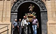 Cervera celebra San Isidro con su procesión