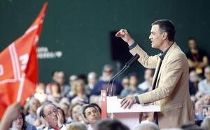 Pedro Sánchez, en Logroño: «Va a haber gente de derechas que nos va votar en mayo»
