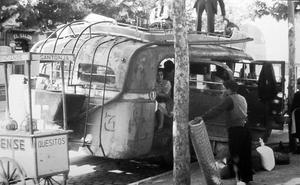 Logroño antiguo (VII): la estación de autobuses