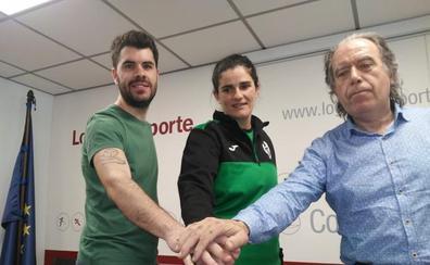 Esther López asume el banquillo de Voleibol Logroño