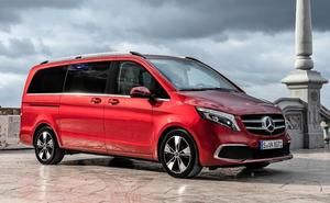 Mercedes Clase V, como un coche de lujo