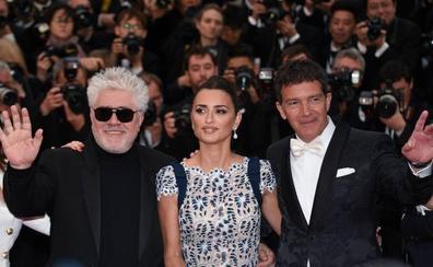 Almodóvar, Banderas y Cruz, hacia la gloria en Cannes