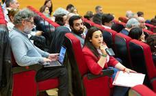 Conferencia en la UR de decanos de universidades españolas sobre la modificación del actual sistema de acceso a la profesión docente