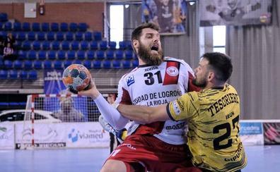 El Logroño pierde ante el Bidasoa y se despide de la Champions