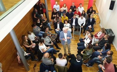Andreu se compromete a dotar a la cultura de un espacio propio en su Gobierno