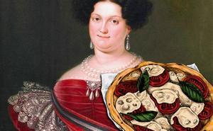 María Cristina de Borbón Dos-Sicilias, la reina que hacía pizza