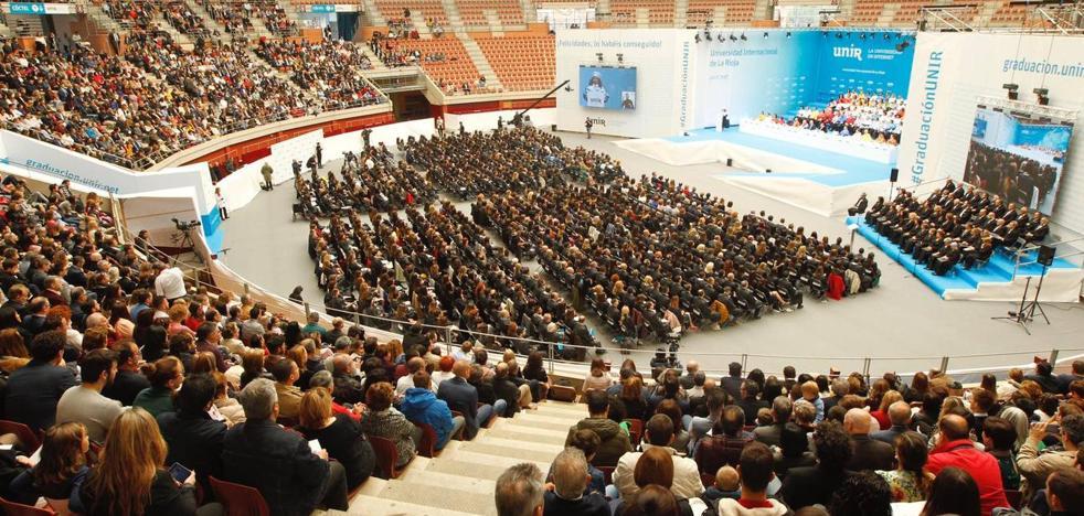 Más de 700 alumnos de 16 países asisten a la Graduación de la UNIR en Logroño