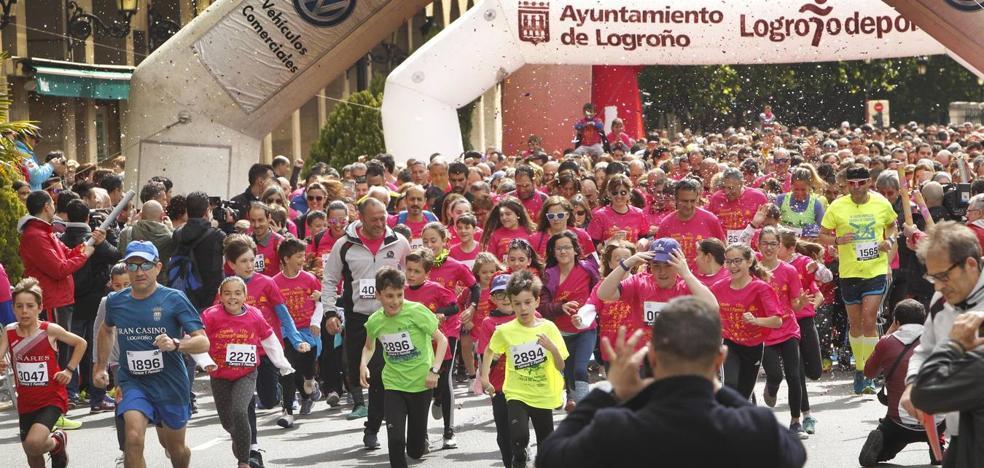 4.200 personas corren en Logroño por el síndrome de Dravet