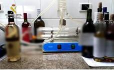 Cae una red de venta ilegal de vino del Bierzo, parte del cual procedía de La Rioja