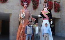 La figuras de la Escuela de Gigantes de Logroño se trasladan a un local de la calle