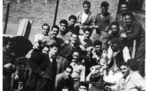 La Retina: trabajadores riojanos de Telefónica en Barcelona