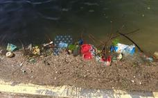 La Guindill: suciedad en el estanque de San Miguel