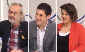 Los candidatos de Logroño, en TVR (I)