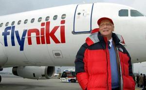 Niki Lauda, de piloto a presidente de una compañía aérea