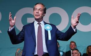 Una velada casi revolucionaria con Nigel Farage