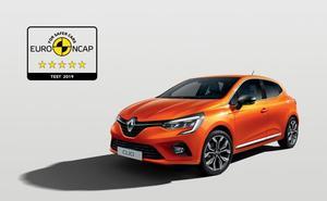 El nuevo Renault Clio recibe 5 estrellas en seguridad Euro NCAP