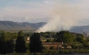 Hasta cinco incendios en Logroño y alrededores