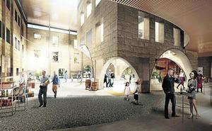 El antiguo edificio de la Cruz Roja de Haro se convertirá en una plaza interior pública