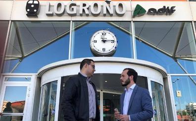 Cs reclamará al Gobierno de España que declare obligación de servicio público el vuelo Madrid-Logroño