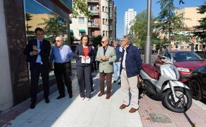 El aparcamiento libre de la calle Villamediana, de Colón a Marqués de la Ensenada, pasa a ser 'zona verde'