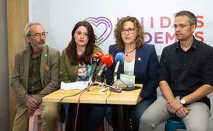 Unidas Podemos propone un área de gobierno de mujer, feminismo y LGTBi