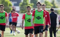Último entrenamiento antes del partido y viaje a Badajoz