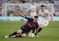 Las mejores imágenes del Barcelona-Valencia de la final de Copa del Rey