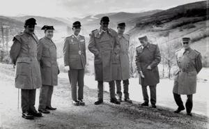 La Retina: ejercicios militares en Pajares