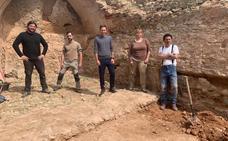 Las excavaciones en el castillo Señorío de Cameros de Nalda descubren dos aljibes