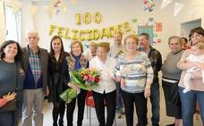 Begoña Hernando entra al club de las centenarias