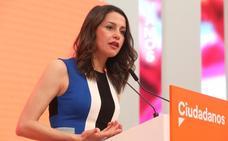 Arrimadas será la nueva portavoz de Ciudadanos en el Congreso