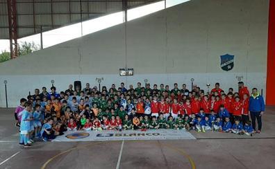 Fútbol de futuro en los torneos del Berceo y del EDF