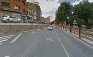 Herida una mujer tras una colisión de dos turismos en Alfaro